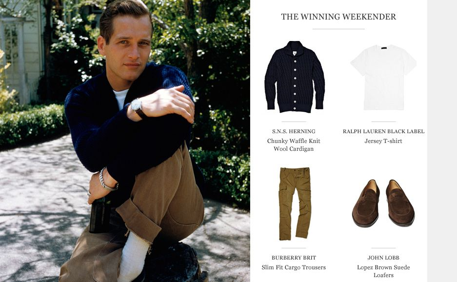 MR PAUL NEWMAN | STYLE ICON | The Journal | MR PORTER