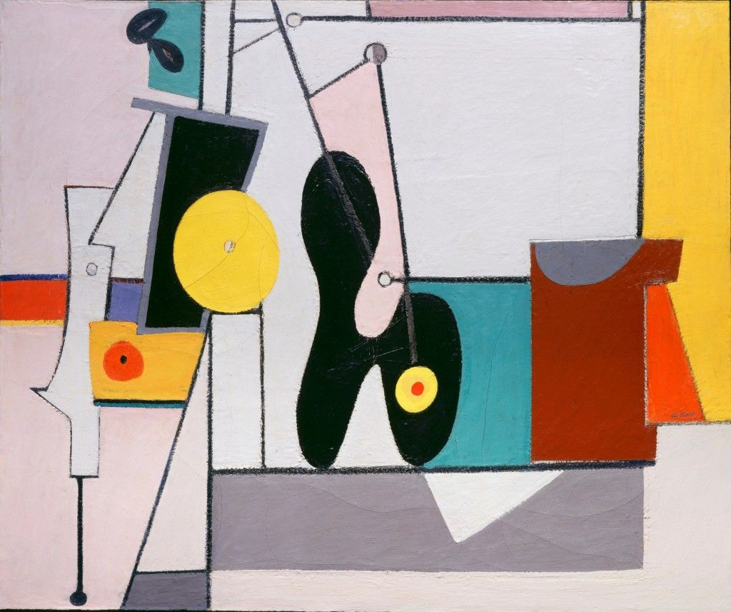 Arshile Gorky Composition 1933 1936 Oil On Canvas Abstract