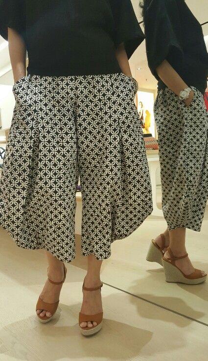 Celana Batik Corak Kawung By Sekar Satari Model Pakaian Pakaian