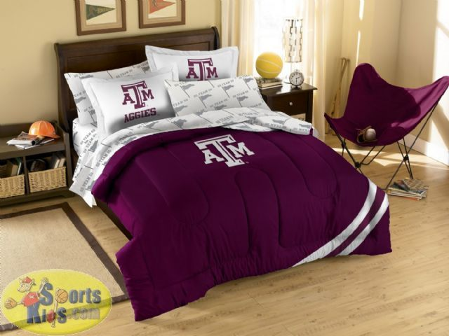 Northwest Ncaa Texas A Amp M Aggies 7 Piece Full Comforter Bed