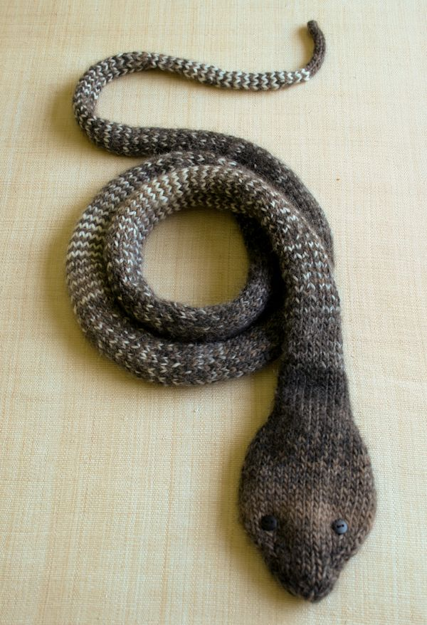 Striped Stockinette Snake - the purl bee | Yarn Creations ...