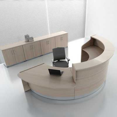 reception desks contemporary and modern office furniture - Modern Office Furniture Reception Desk