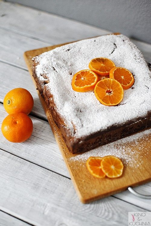 Clementine cake  | food photography
