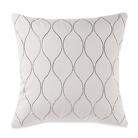 MYOP Genie Square Throw Pillow Cover in Cream