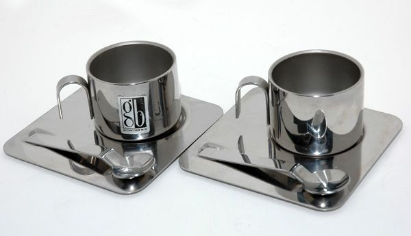 914874dccc3 Stainless Steel Espresso Cup set | ESPRESSO & CAPPUCCIN0 SETS / CUPS ...