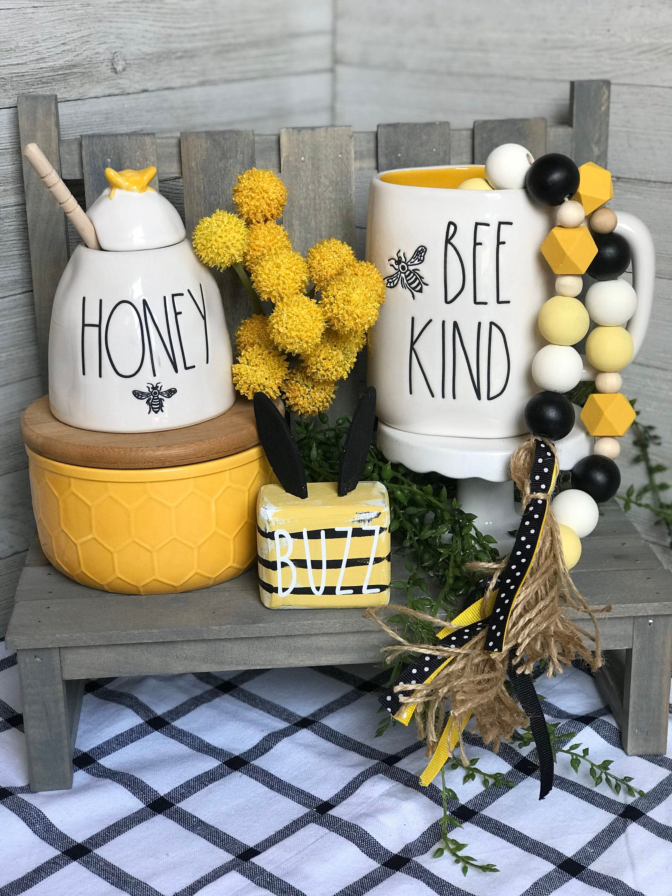 Excited To Share This Item From My Etsy Shop Bee Farmhouse Garland Honey Bee Decor Lemon Decor Bee Decor