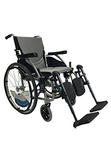 Karman Sergo115q16se Wheelchair With Elevating Legrest Pearl Silver 16 X 17 Inch 25 Pound 3 Click The Image To Vi Wheelchair Silver Pearls Electric Wheelchair