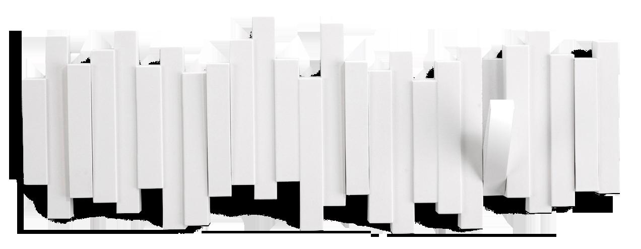 STICKS-seinanaulakko, valkoinen