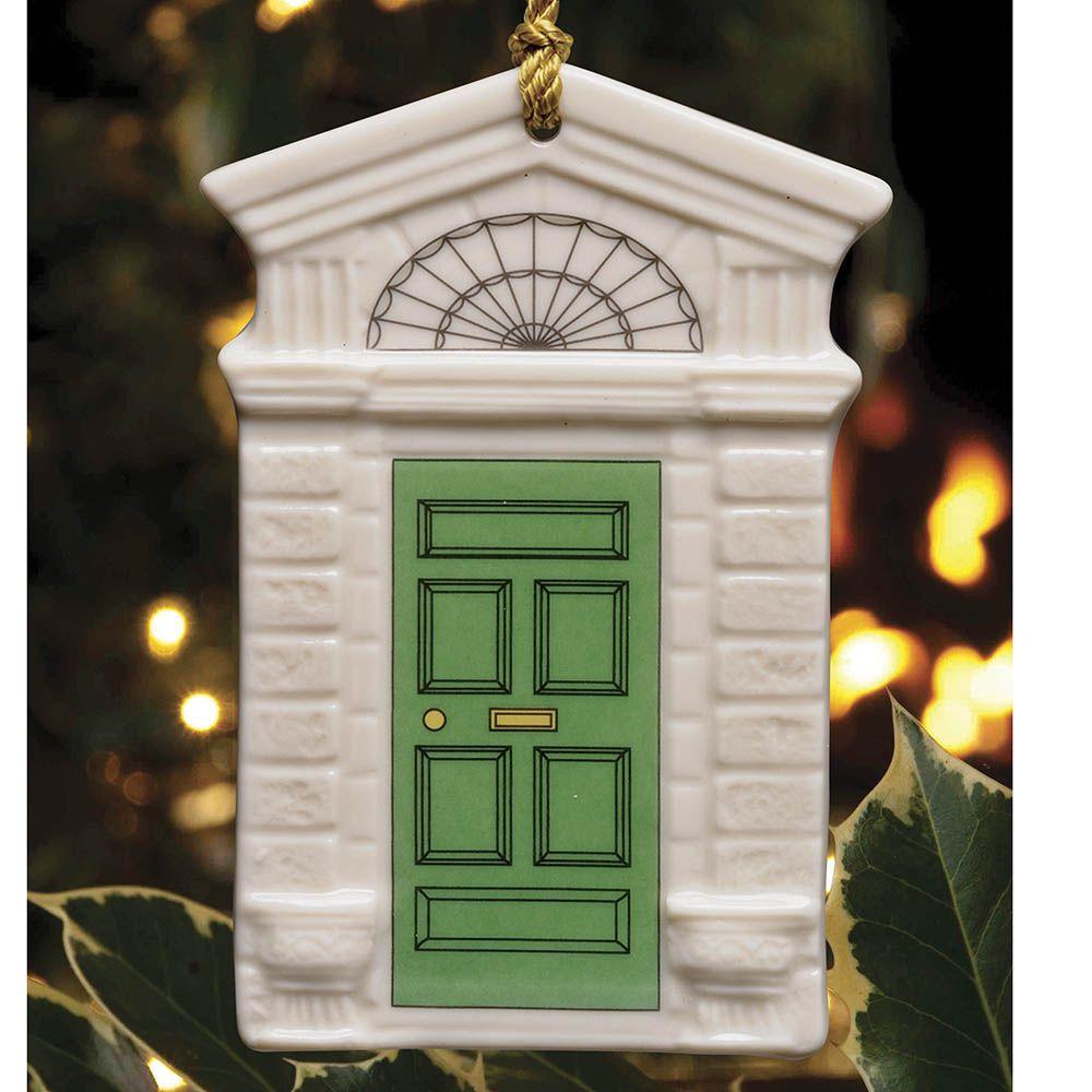 Burlap Door Wreath St. Patrick's Day Decor Wall Decor  |Ireland Door Decorations