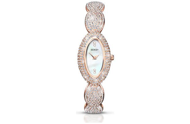 Seksy Ladies' Rose Gold Bracelet Watch  – Argos £49.99 Was £129.99