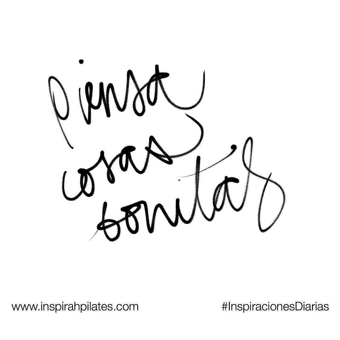 Piensa cosas bonitas  #InspirahcionesDiarias por @CandiaRaquel  Inspirah mueve y crea la realidad que deseas vivir en:  http://ift.tt/1LPkaRs
