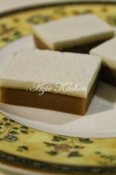 Azie Kitchen Kuih Tepung Talam Beras Istimewa Recipe Cards Recipe Cards Template Beras