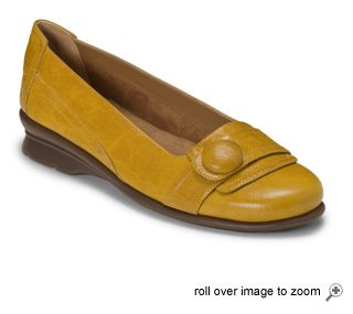 fun yellow flats