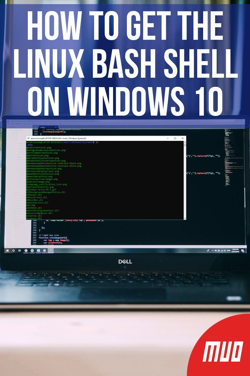 How to Get the Linux Bash Shell on Windows 10 in 2019