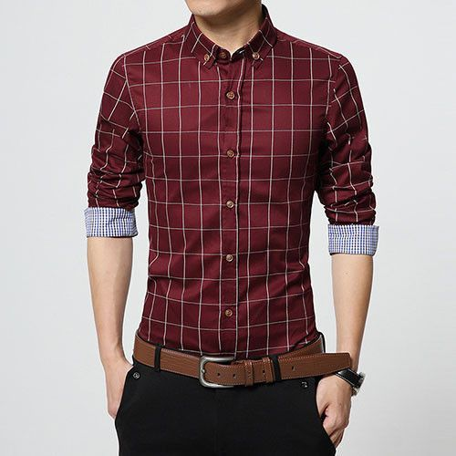 1c7fc1ef2595 Item Type  Shirts Gender  Men Sleeve Length  Full Shirts Type  Casual Shirts  Brand Name  LANGBEEYAR Collar  Turn-down Collar Fabric Type  Broadcloth ...