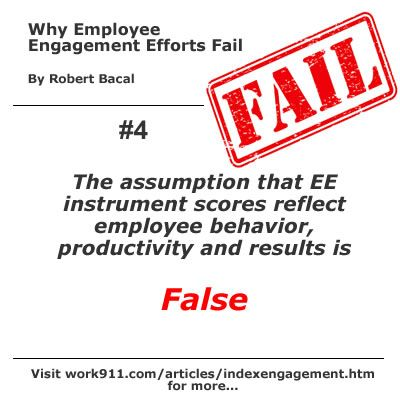 The Assumption That Ee Instrument Scores Reflect Employee Behavior