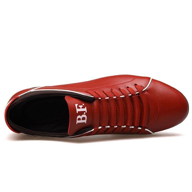 2231e6b6d44 Sapatenis Social Masculino em Couro Red Calçados Elegante Sapato Casual -  Calitta