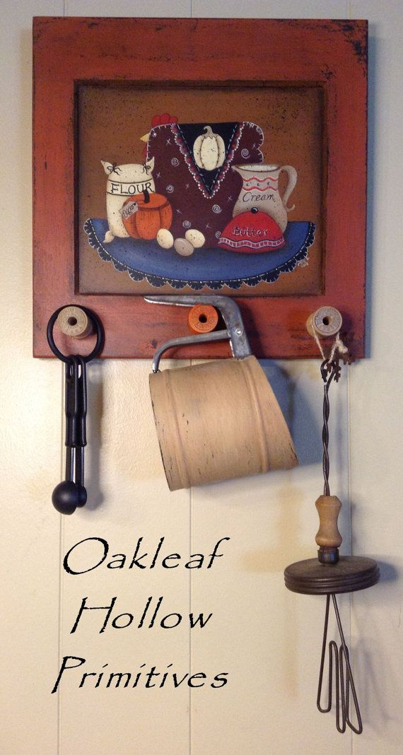 Pretty For Your Kitchen Decor! 10% Off Using Coupon Code: OHPFall Primitive  Kitchen