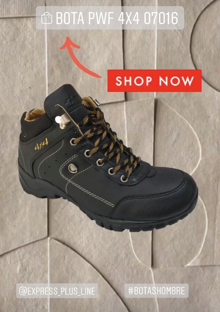 Bota Pwf 4x4 Boots Botassport Botashombre