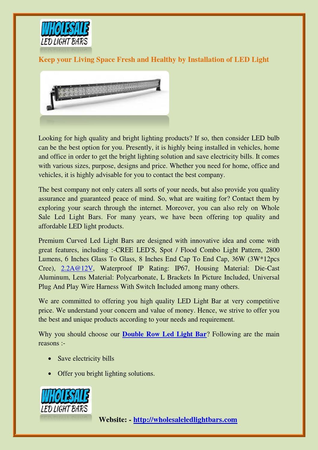 Premium Led Light Bars Led Light Bars Led Lights Bar Lighting
