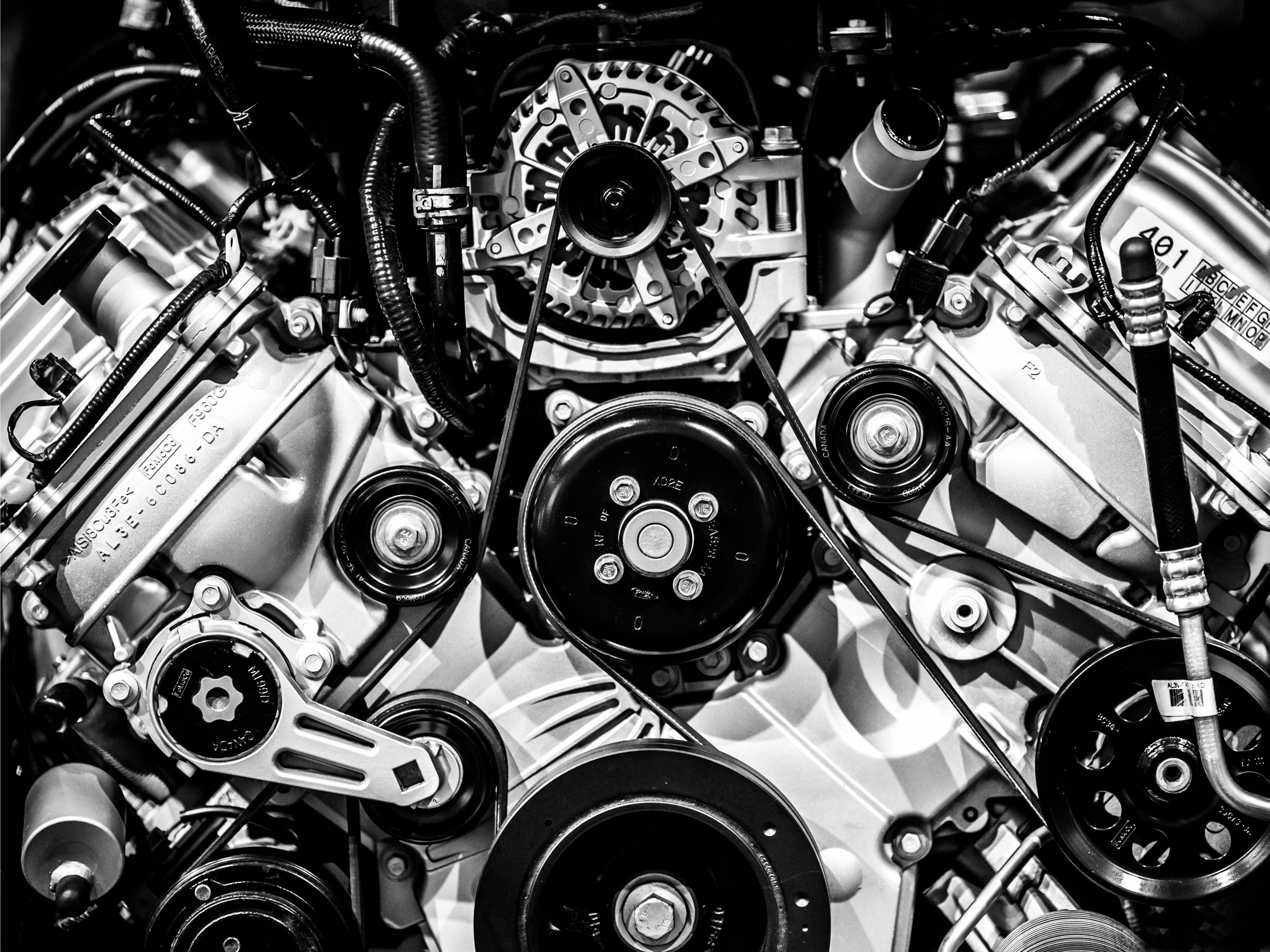 Audi Engine HD desktop wallpaper Widescreen High Definition