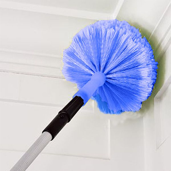 Banish Spider Webs And Dust Bunnies With The Connect Clean Cob Web Duster Its Domed Design Grabs Holds Onto Dirt That Lurk In