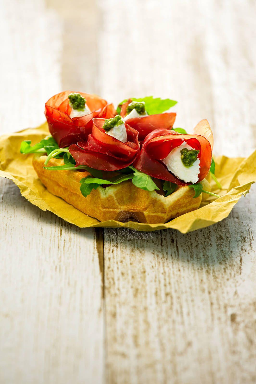 Waffel salati di Waffelman