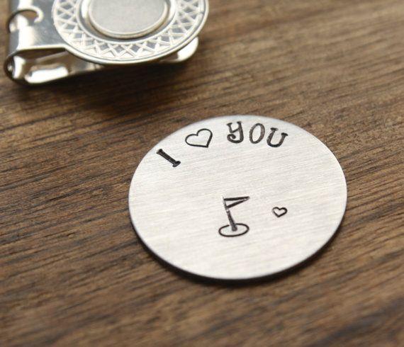 I Love You Golf Ball Marker Mens Gift Boyfriend Gift