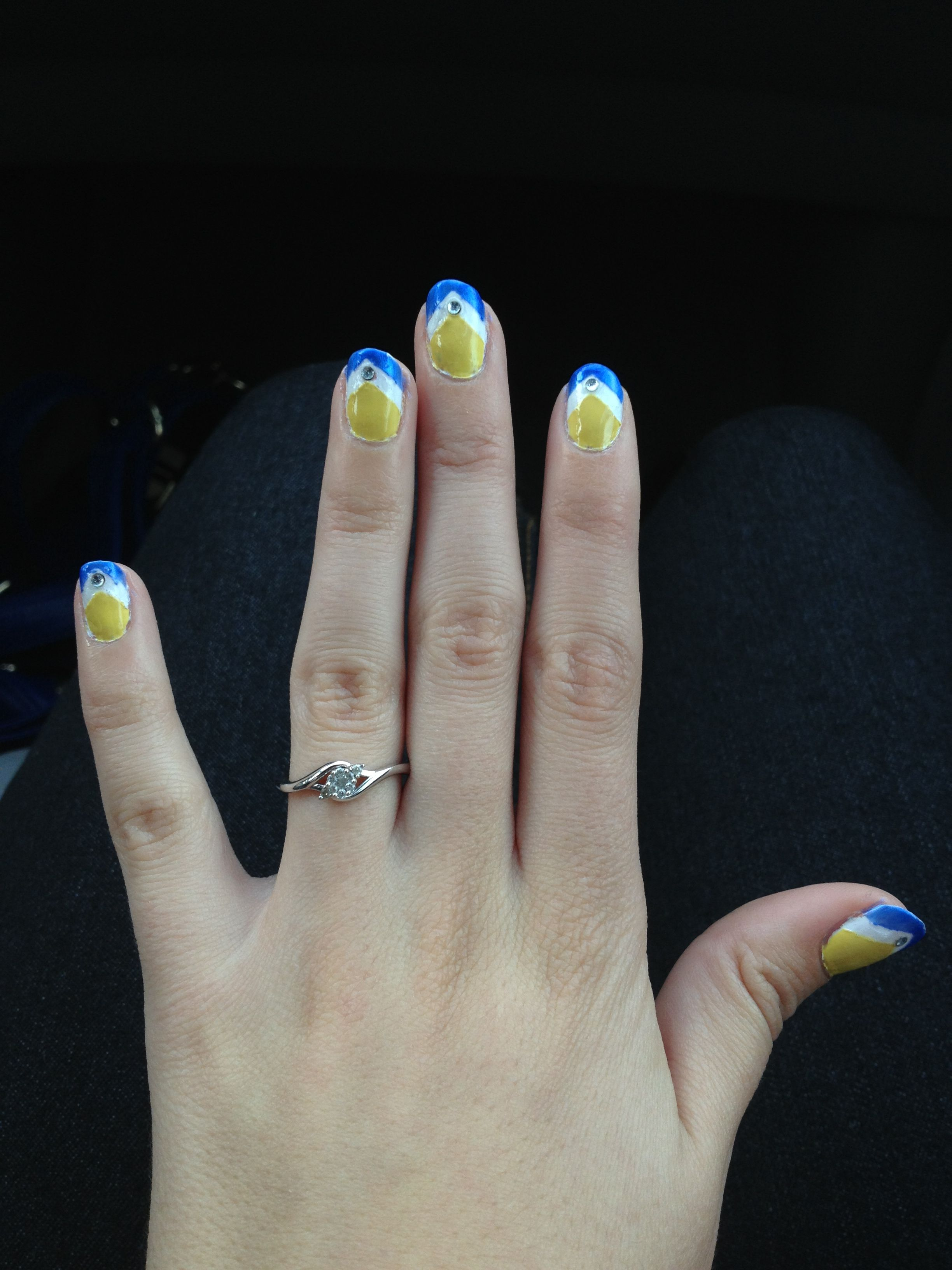 Golden State Warriors Nails For The Game Warriors In 2018