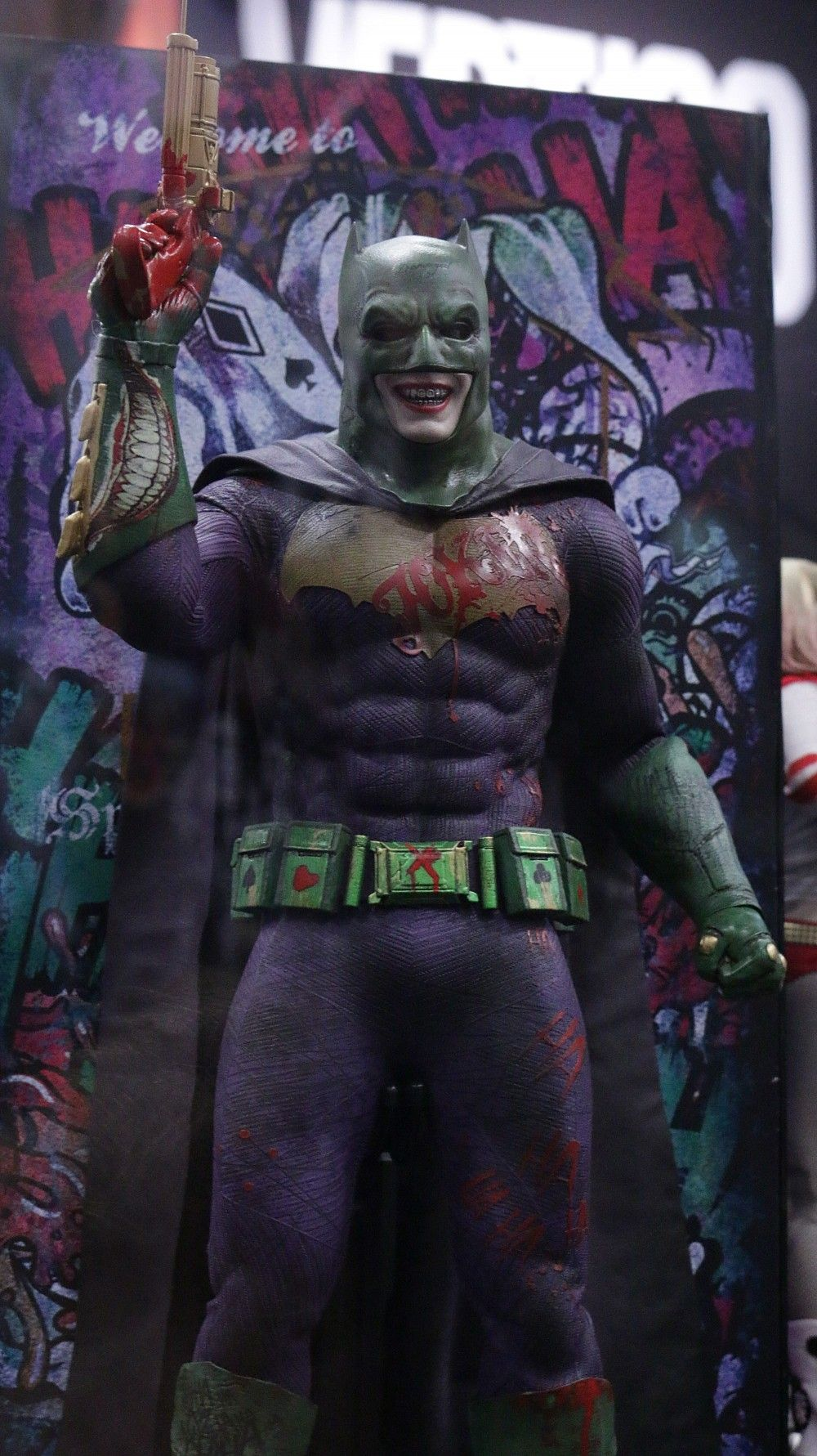 Joker Batman Suit Action Figure Squad1 Incredible Alternate Batman and Deadpool Designs Revealed At SDCC & Joker Batman Suit Action Figure Squad1 Incredible Alternate Batman ...