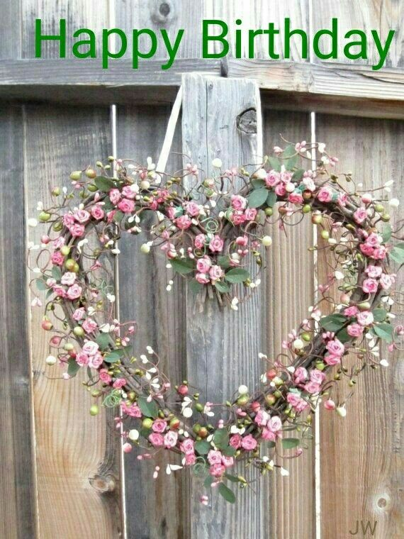 Shabby Chic Weddings Country Garden Outdoor Decor Wedding Decorations Ideas Heart Wreath