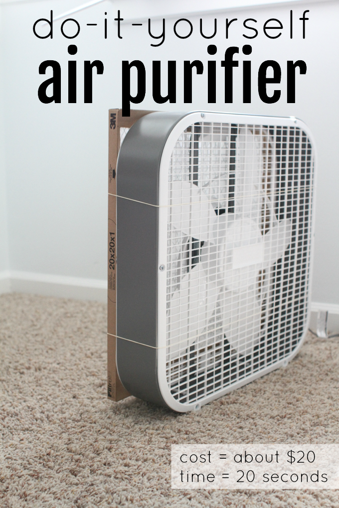 DIY Air Purifier You Can Make Yourself Air purifier, Diy