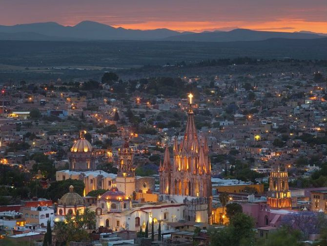 """San Miguel de Allende es considerada como """"La mejor ciudad del mundo"""""""