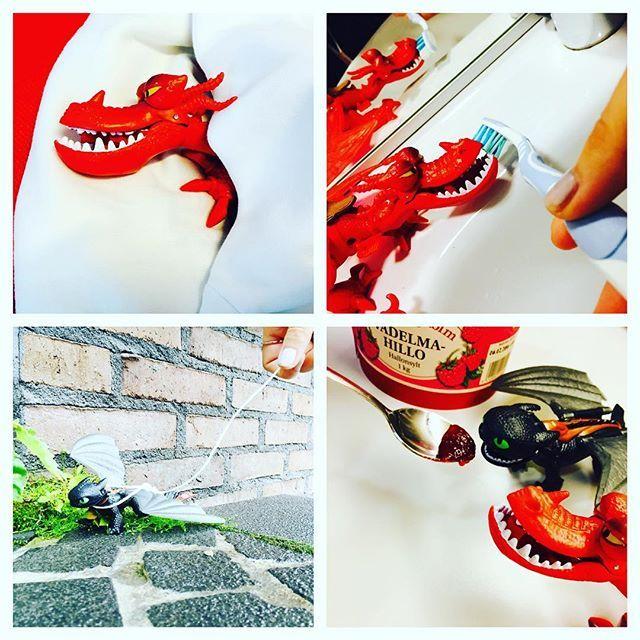 Coconut ei jäädy erikoisimmankaan tehtävän edessä. Normiduunipäivään saattaa kuulua vaikkapa lohikäärmeen hoito-oppaan kuvaukset. #tbt #netflix #dragons #photoshoot #wearecocomms #knowyourcoconut // tällä viikolla Cocommsin instassa seikkailee @saarakl
