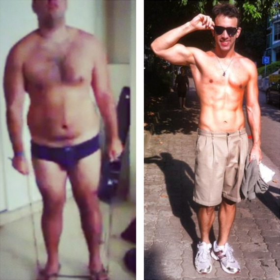 Lose weight scary fast