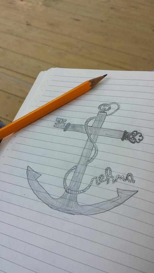 Tattoo Idea?? The revealed word of God ( Rehma) , The key, The Cross and the Anchor.