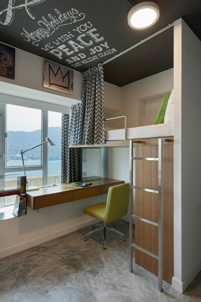 Student apartment complex revitalizes space efficiency for Apartment design hk