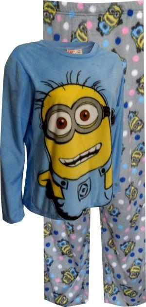 b8f35b5f722218 Despicable Me Happy Minion Plus Size Soft Velvety Pajama