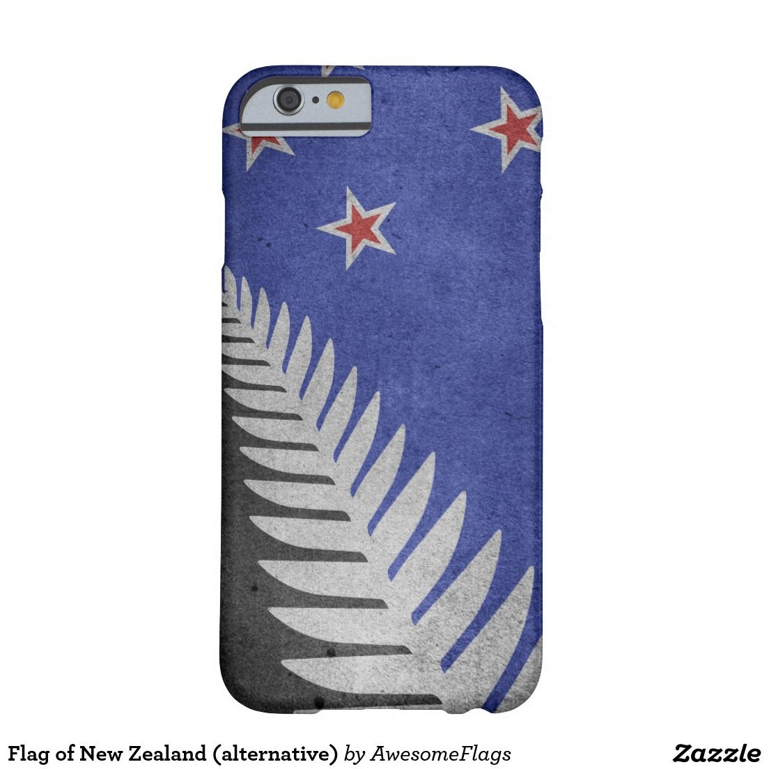 Flag of New Zealand (alternative) Barely There iPhone 6 Case