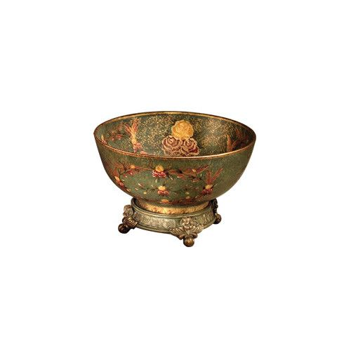Found it at Wayfair - Princess Ann Centerpiece Hand Painted Porcelain Bowl