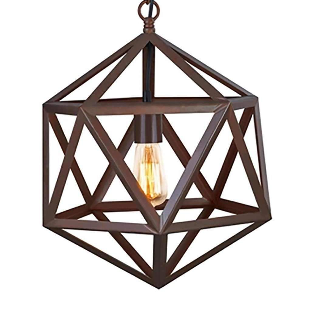 Polyhedron Large Pendant Light Fixture