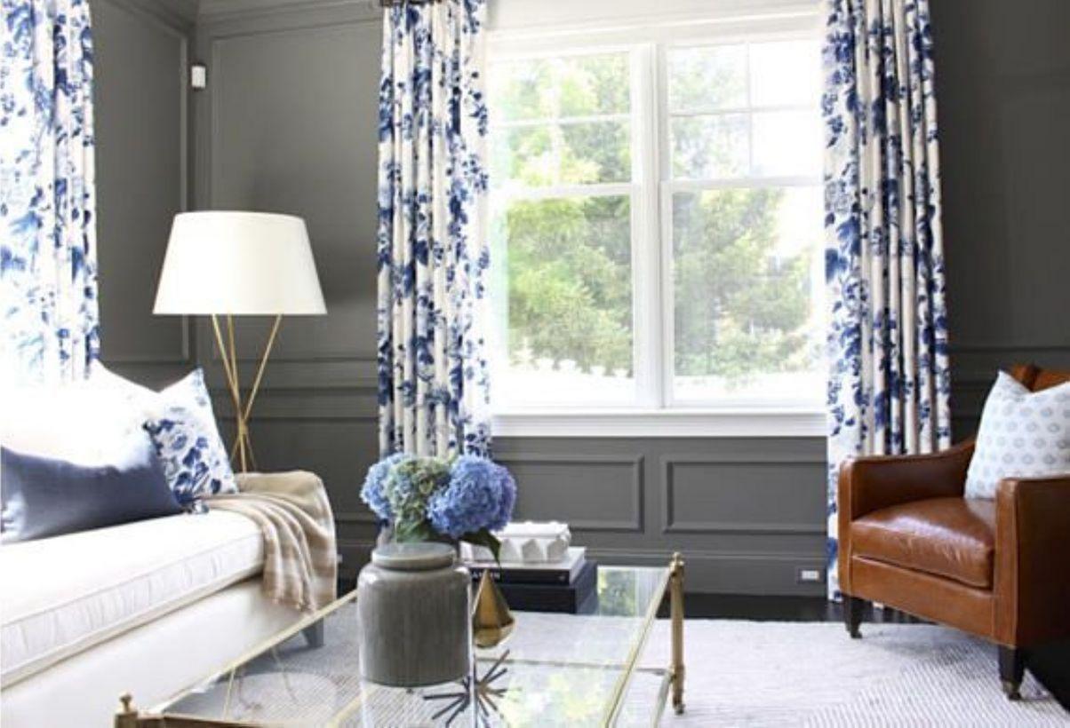 Brilliant 25 Beautiful Living Room Curtain Design