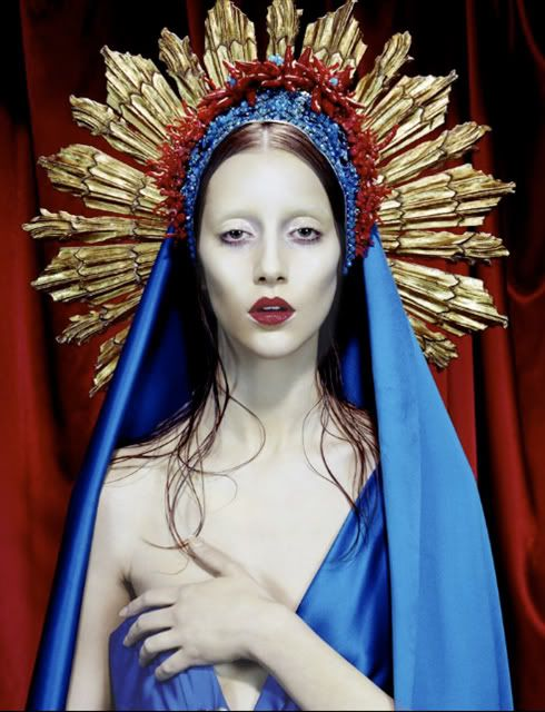 Jean Paul Gaultier photographer Miles Aldridge