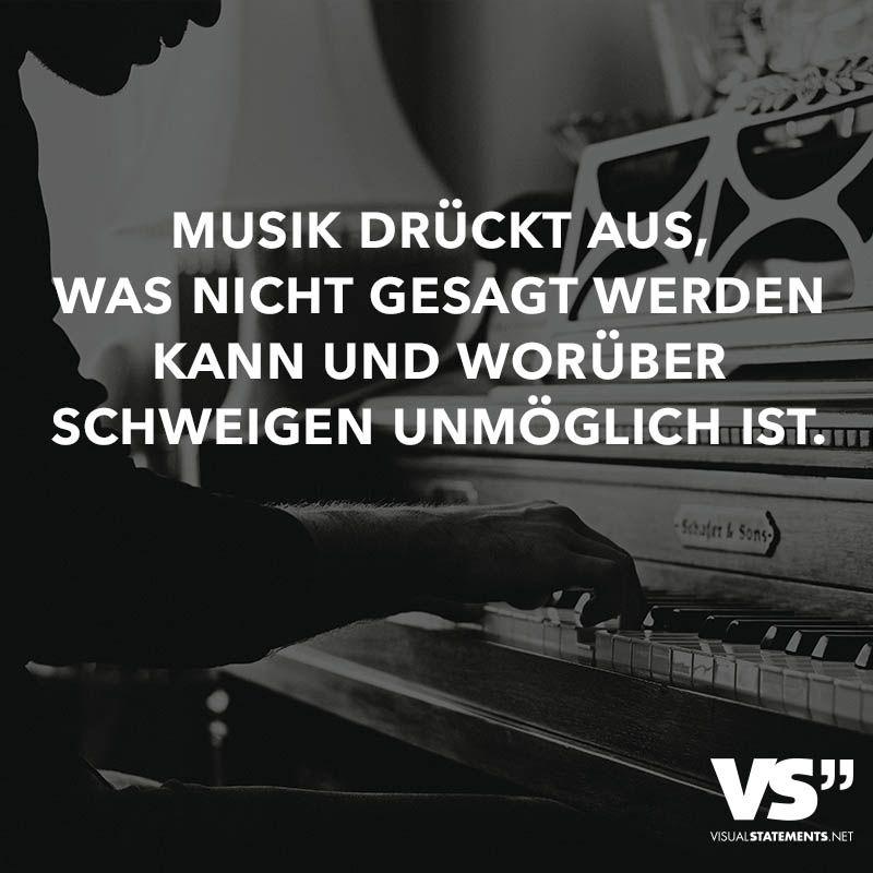 Musik drückt aus, was nicht gesagt werden kann und worüber