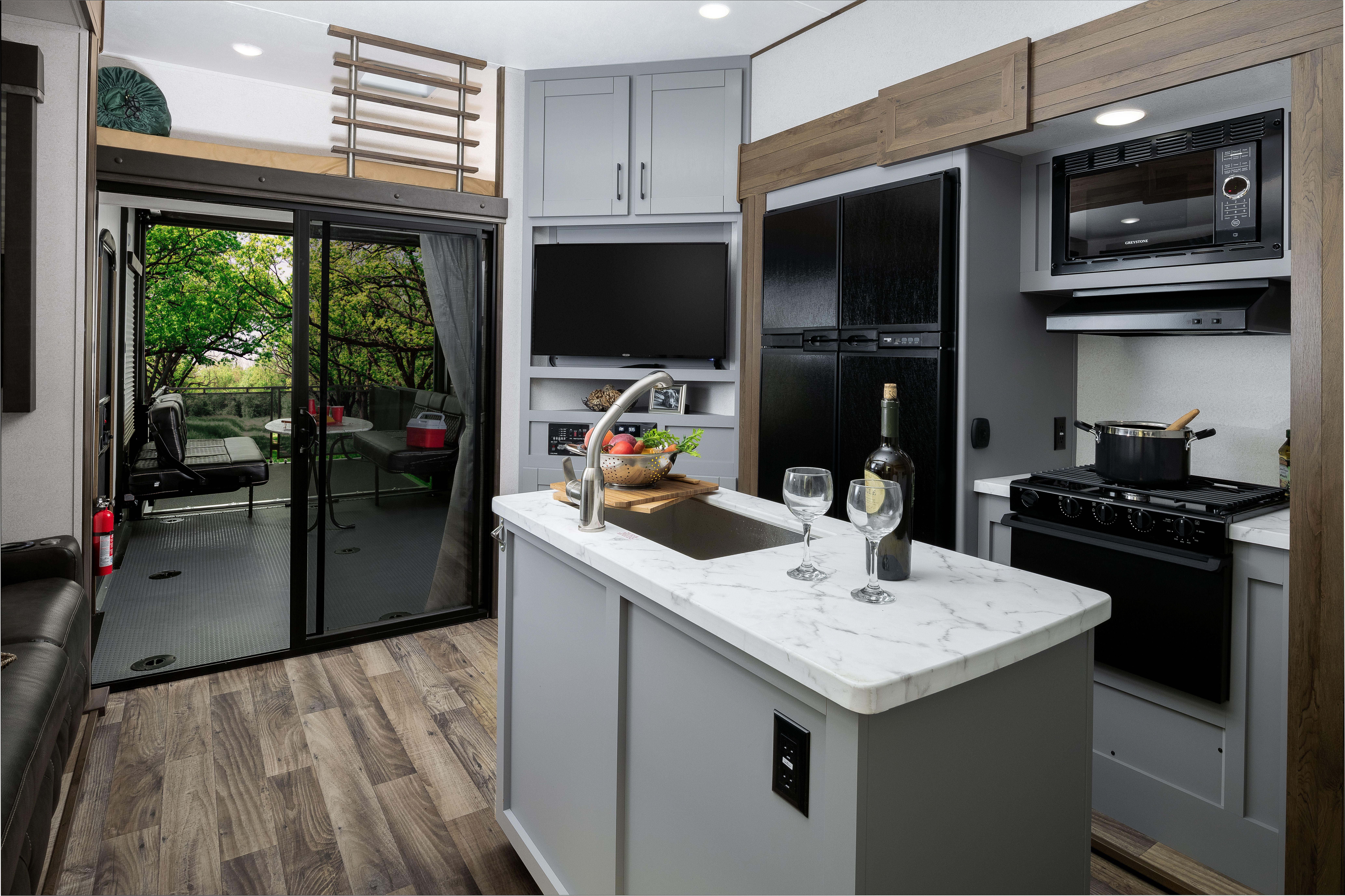Keystone Impact 423 Interior Fall 2019 Luxury Rv Living Rv