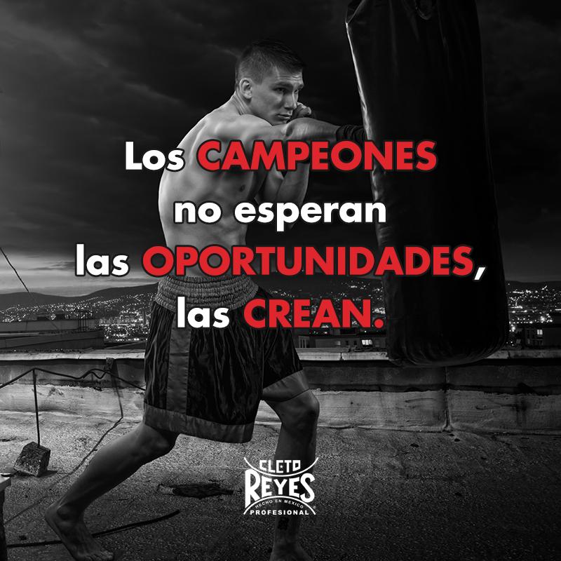 Frase Quote Motivation Campeón Cletoreyes Actitud