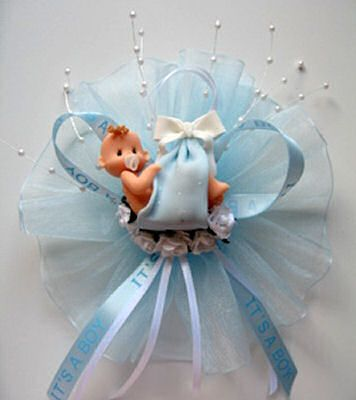 Baby Gifts To Make Yourself | Baby Shower Corsage Can Be A Perfectly Simply  Gift To