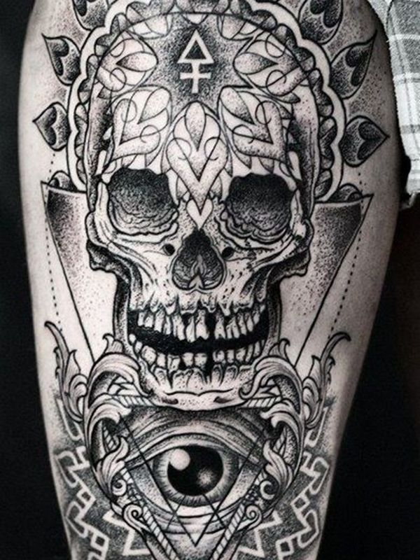 40 Best Sugar Skull Tattoo Designs Menings For Men And Women Check More At Http Tattoo Journal Com 40 Be Skull Tattoo Design Tattoos For Guys Skull Tattoos