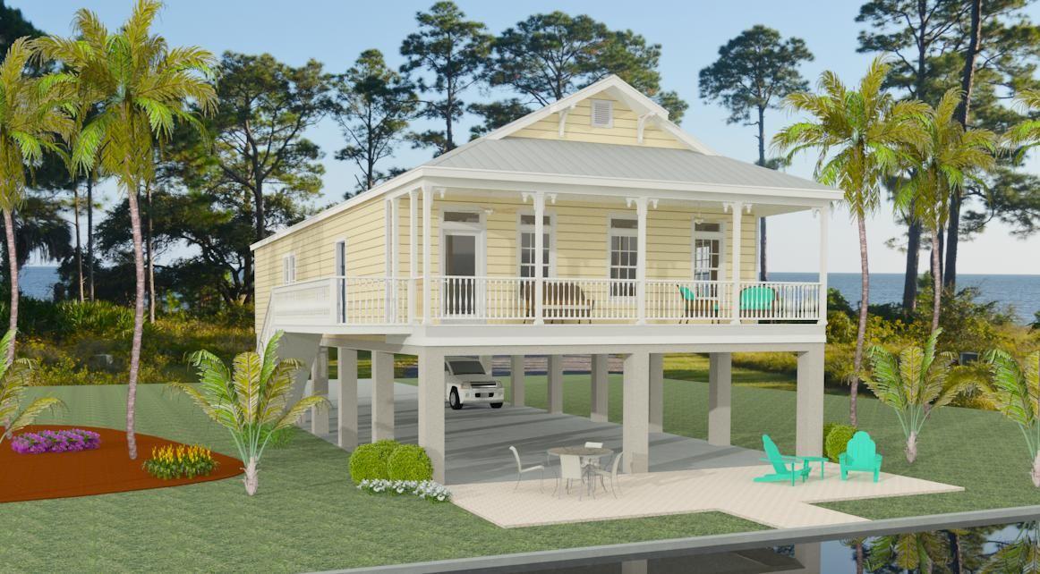 Mobile homes on stilts for Modular homes on stilts