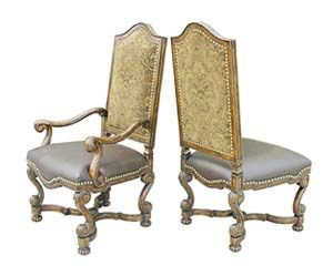 Delightful Old World Style Dining Chair Western Dining Chairs